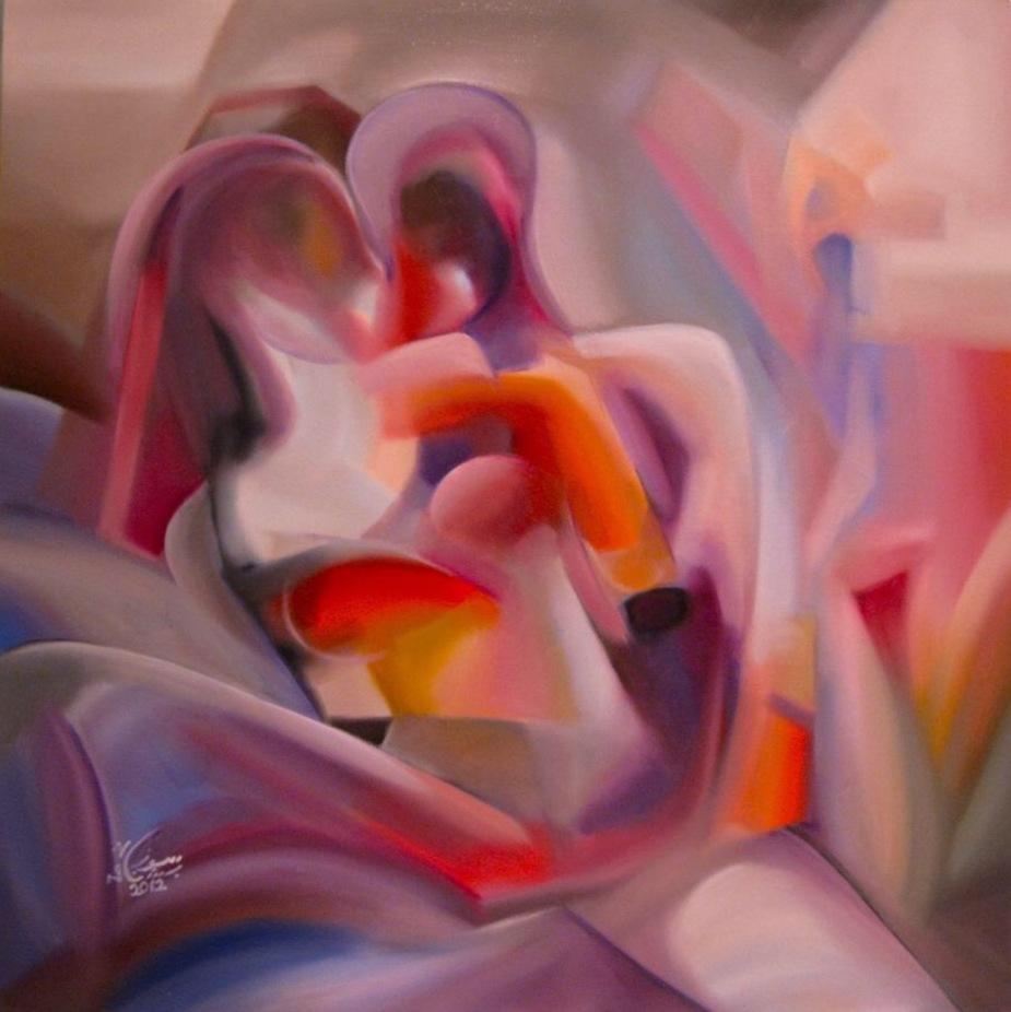 Artist: Suzan Bushnaq, Intimate.